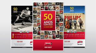 Calendario de aniversario Phillips